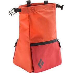 Black Diamond Mondo Sacchetto Porta Magnesite, arancione/rosso